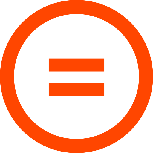 equality sign creative commons no derative