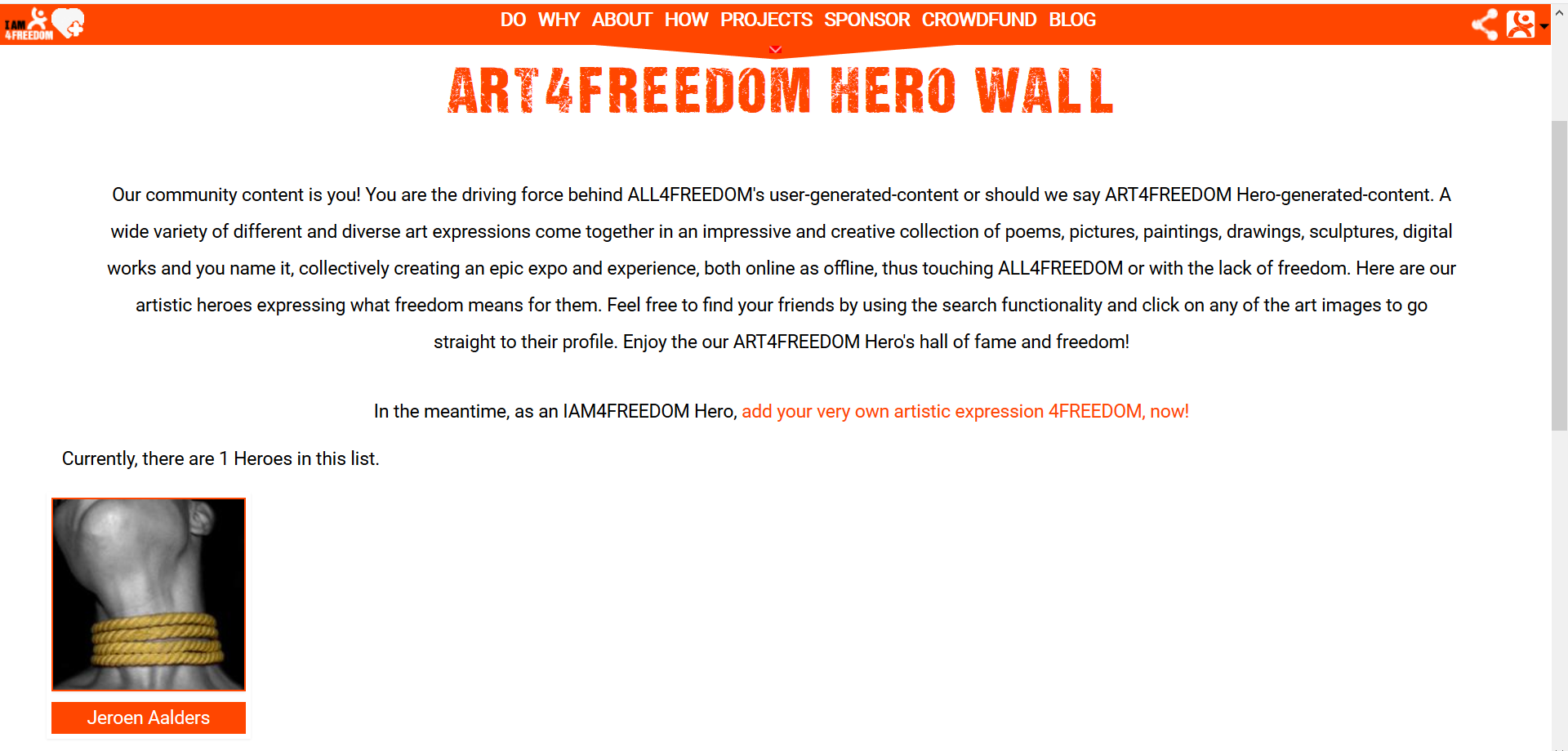 Screenshot art4freedom wall
